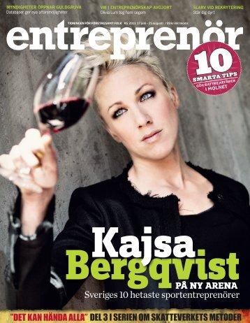 Entreprenör nr 5 2011