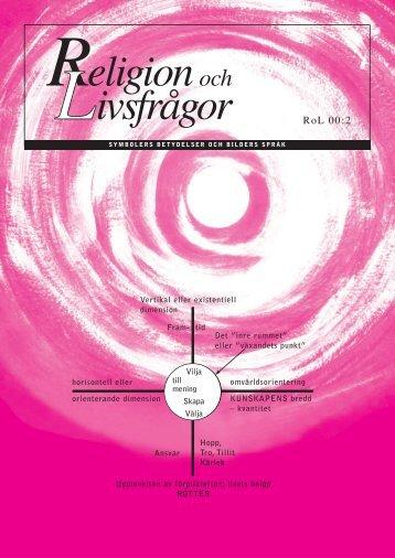 RoL 00:2 - Föreningen Lärare i Religionskunskap