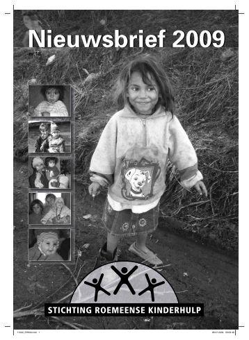 Nieuwsbrief 2009 - Stichting Roemeense Kinderhulp