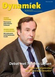 Debat met Thomas Leysen - BECI