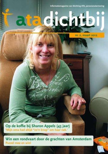 Op de koffie bij Sharon Appels (43 jaar) Win een ... - Stichting ATA
