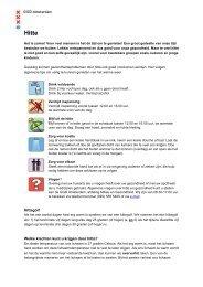 Algemene informatie over hitte en gezondheid - GGD Amsterdam