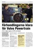 Nummer 02 - Februari 2009 - Volvo Verkstadsklubb Göteborg - Page 6
