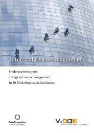 Integraal risicomanagement - VvAA