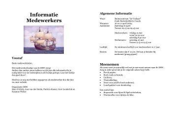 Informatie Medewerkers