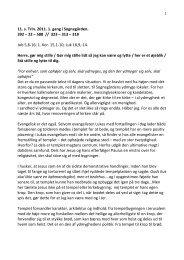 11. s. Trin. 2011. 1. gang i Sognegården. 392 – 22 – 588 // 323 ...