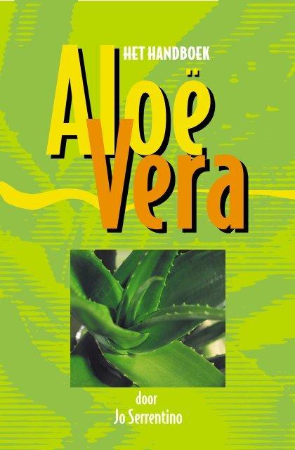 aloë boek - Ecolife aloe vera