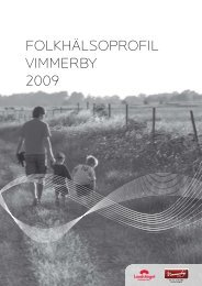 FOLKHÄLSOPROFIL VIMMERBY 2009 - Vimmerby Kommun