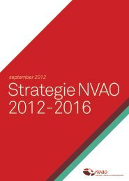 Strategie NVAO 2012-2016