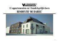 RESIDENTIE 'DE BAREEL' - Immo Haven