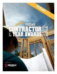 Contractor Awards - Associated General Contractors of Las Vegas