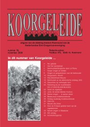 nummer 78 - 2007.pmd - SGV Roermond