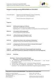Kongress hundertprozentig.erneuerbar am 22.06.2012