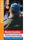 Nederlandse Veteranendag - Kvmo