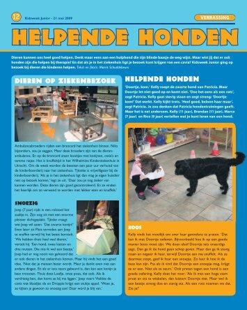 KidsWeek Junior - Helpende Honden