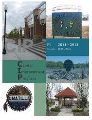 Capital Improvement Plan (draft) - City of Umatilla