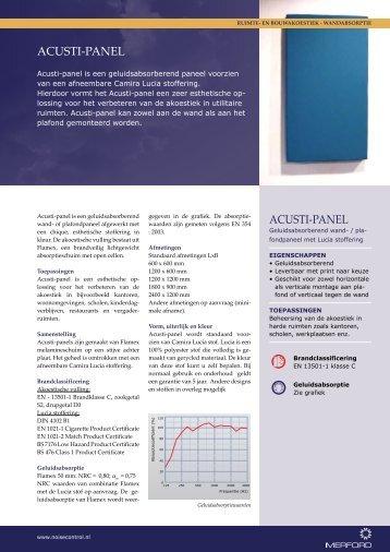 Acusti-pAnel Acusti-pAnel - Merford