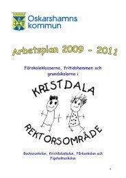 Förskoleklasserna, fritidshemmen och grundskolorna i - Oskarshamn