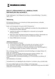 Policy för kommunala bidrag inom Örnsköldsviks kommun.pdf