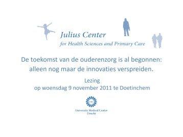 Presentatie Prof. Dr. G. Schrijvers