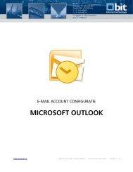 POPs/IMAPs voor Microsoft Outlook instellen - Bit
