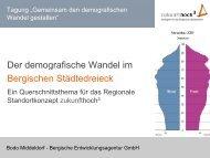 Der demografische Wandel im Der demografische Wandel im ...