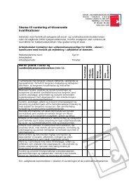 Skema til vurdering af tilsvarende kvalifikationer - SOSU-STV