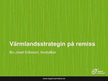 Presentation - Region Värmland
