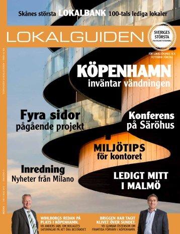köpenhamn - Lokaler