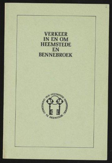 VERKEER IN EN OM HEEMSTEDE EN BENNEBROEK - Historische ...