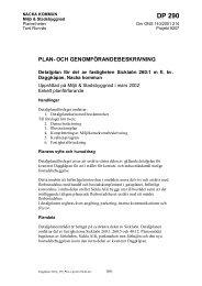 Dp 290 Plan-o.genomf.beskr - Nacka kommun