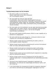Bijlage B Twintig basisprincipes van het Jenaplan ... - Xpect Primair