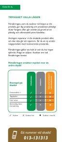 TRYGGHETSFÖRSÄKRING - Jetshop - Page 2