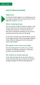 TRYGGHETSFÖRSÄKRING - Jetshop - Page 6