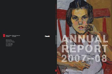 Annual Report 2007-2008 - National Gallery of Canada