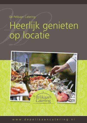 533.046 Catering folder aanpassen.indd - De Pelikaan catering