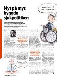 Myt på myt byggde sjukpolitiken - Dagens Arbete
