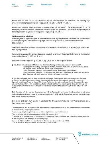 12-07365 lyskasser vl 102 eller 103.pdf - Vejdirektoratet