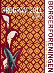 PROGRAM 2011 - Borgerforeningen