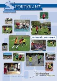 Sportkrant meimaand - sportmaand 2013 - Gemeente Bonheiden