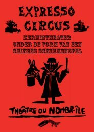 Expresso Circus - Théâtre du N-ombrîle