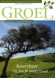 2009-3 Kwetsbaar en toch weerbaar - Groei