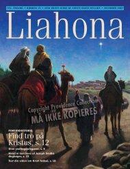 December 2007 Liahona - Jesu Kristi Kirke af Sidste Dages Hellige