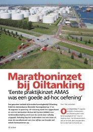 Marathoninzet bij Oiltanking - Brandweer