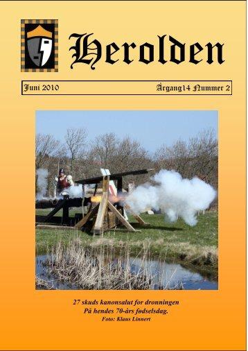 Juni 2010 Årgang14 Nummer 2 - Herolden