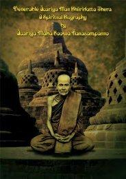 Venerable Acariya Man Bhuridatta Thera - A ... - buku Dharma