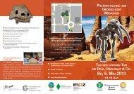 Flyer-Download - Bayerische Staatssammlung für Paläontologie ...