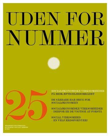 Uden for nummer 25 - Dansk Socialrådgiverforening