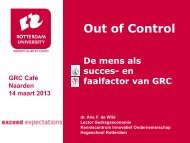Out of Control - Hogeschool Rotterdam
