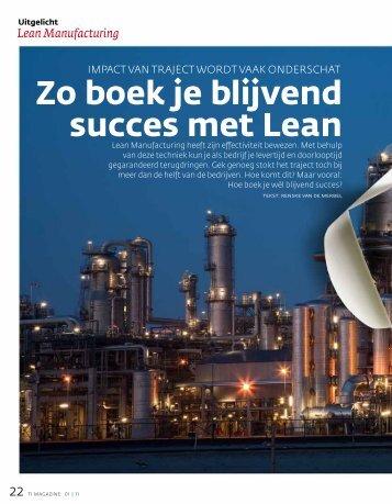 TI Artikel Succes met Lean - Lean Management Network